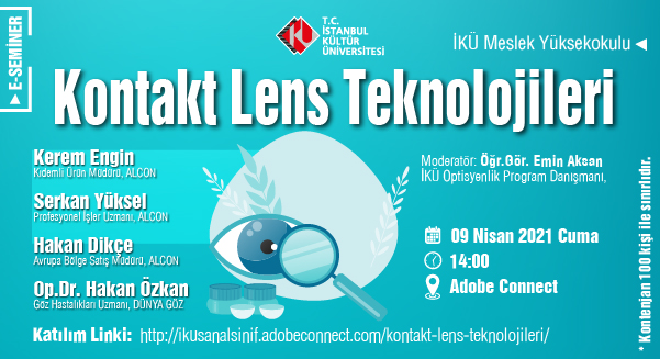 """Kontakt Lens Teknolojileri"""