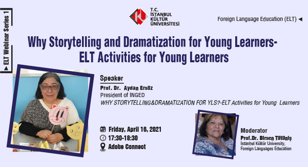 """""""Why Storytelling and Dramatization for Young Learners"""""""